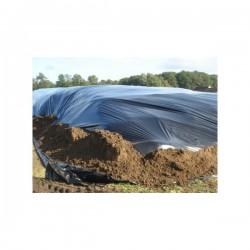 10x50 pe folie landbouw UV bestendig zwart