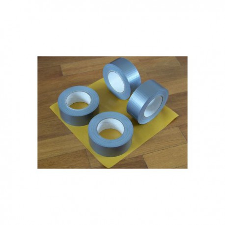 Duct tape zilver Professioneeel 5 cm breed 50 meter lang