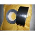Duct tape zwart Professioneeel 5 cm breed 50 meter lang